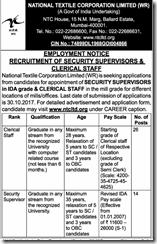 NTCL Recruitment Notice 2017 www.indgovtjobs.in