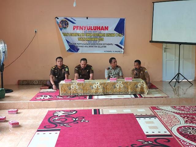 BPN Kotabaru Gelar Penyuluhan PTSL