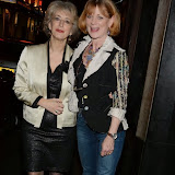 WWW.ENTSIMAGES.COM -  Maureen Lipman and Samantha Bond   at        One Night Only - charity event at The Ivy, 1-5 West Street, London December 1st 2013                                               Photo Mobis Photos/OIC 0203 174 1069