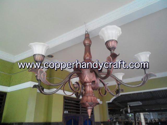 coco art lampu tembaga dan kuningan lampu robyong tembaga