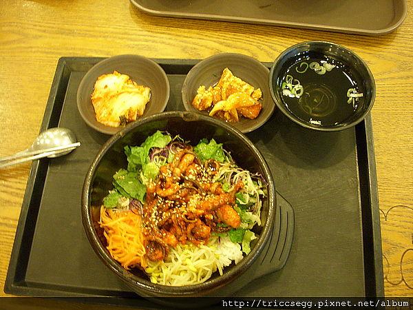 章魚石鍋拌飯