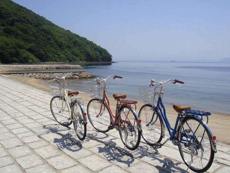 自転車でちりちりりん♪坂手港周辺コース