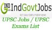 UPSC-Recruitment-indgovtjobs