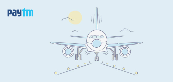Paytm FLYTHANKYOU Loot - Get Rs.750 cashback on Flight ticket booking of Rs. 750