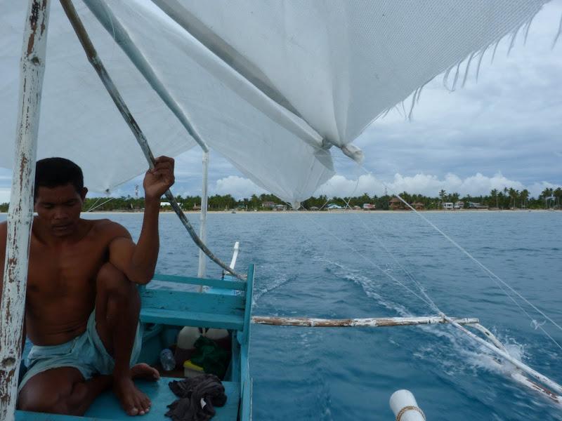 07.00 am. De Bantayan, trois heures de mer pour rejoindre Malapascua