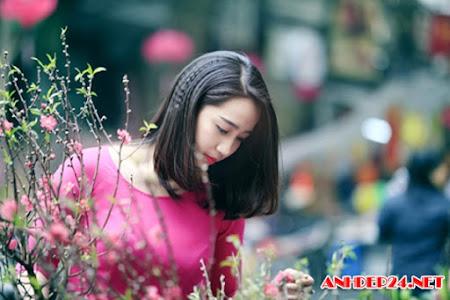 Bộ sưu tập ảnh đẹp về mùa xuân của những hot girl VN du xuân