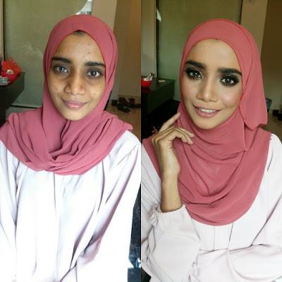 makeup sanding murah, makeup nikah, makeup bertunang