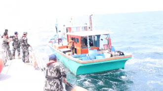 Lagi Ditangkap Kapal Asal Malaysia dan Filipina di Perairan Zona Ekonomi Eksklusif Indonesia