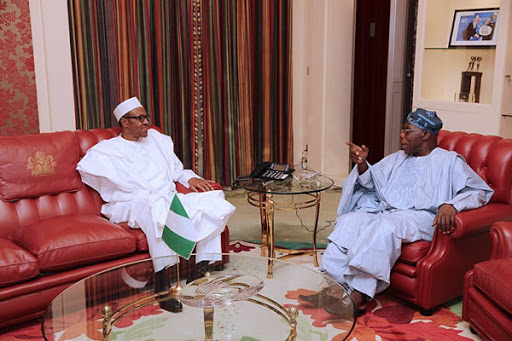 President Buhari Meets Obasanjo, Jonathan, Others Over Insecurity Today