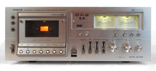 Cassette Hitachi Reel to Reel Silver