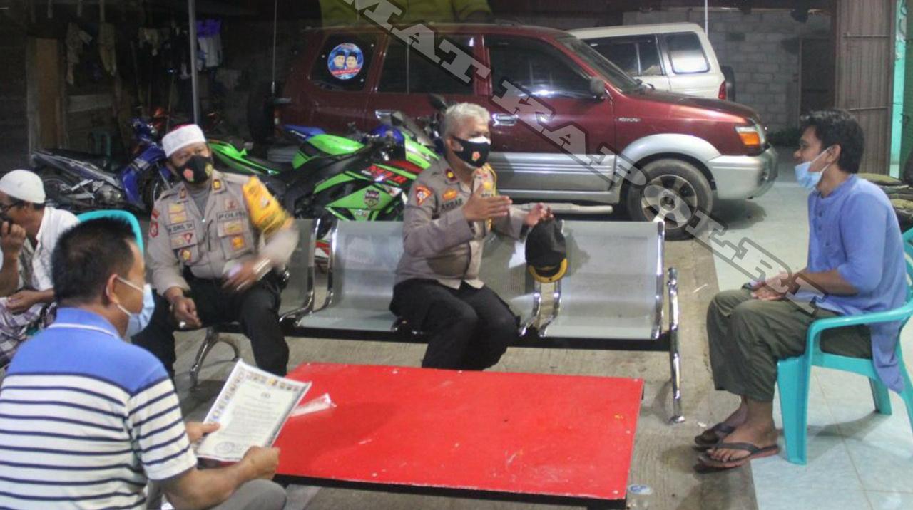 Polres Luwu Timur dan Polsek  jajaran sebarkan maklumat Kapolri, minta warga mematuhinya