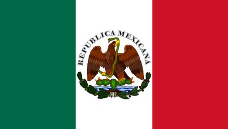 Banderas no oficiales usadas entre 1846 y 1879 (Historia de la bandera de México)