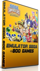 SEGA Emulator + 843 Adet Oyun Full indir