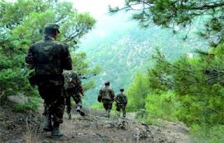 Lutte antiterroriste: cinq canons de confection artisanale et trois bombes détruits à Boumerdès (MDN)