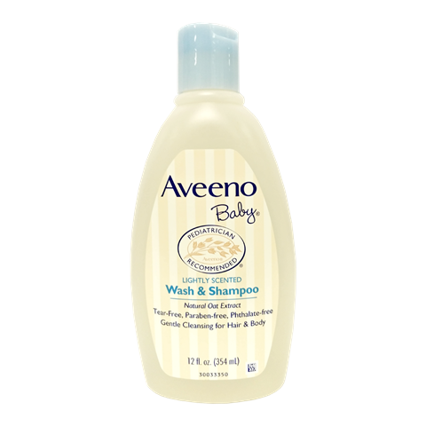 Aveeno Baby Lightly Scented Wash & Shampoo