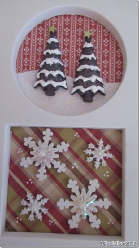Christmas Sampler Photoframe..