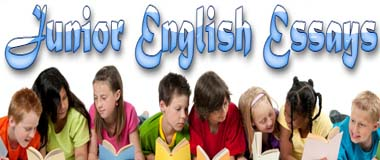 english essays for juniors Efl learners' english argumentative essays: a dialogic concept of writing  argument structure in both indonesian l1 and english l2 compared to first-year juniors.