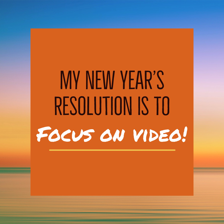 happy New Year video marketing