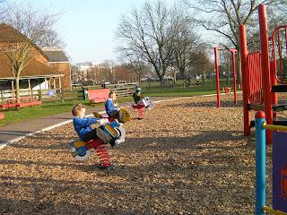 recreation park milton in winter