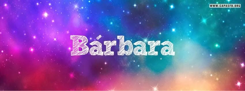 Capas para Facebook Bárbara