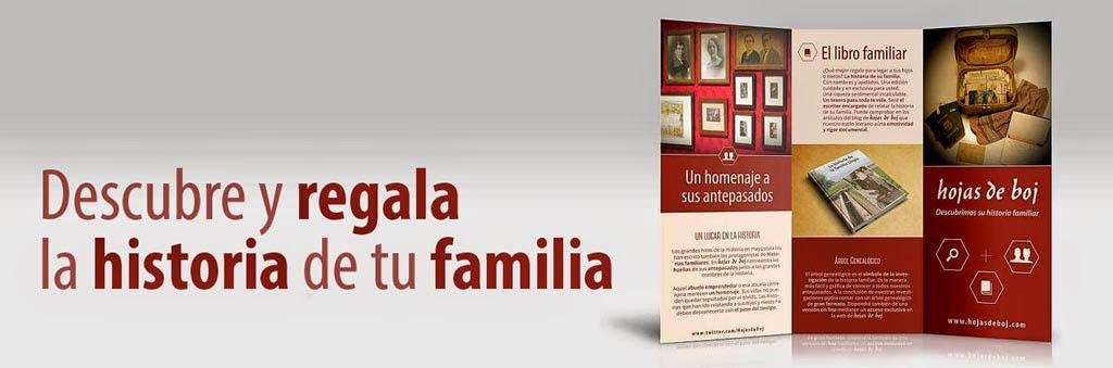 Descubre y regala la historia de tu familia con Hojas de Boj