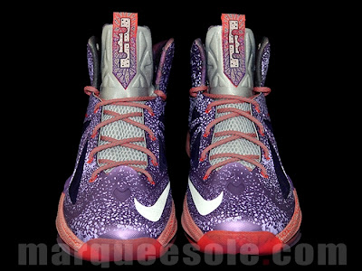 nike lebron 10 gs galaxy 1 02 First Look at Nike LeBron X Galaxy in Kids Sizes