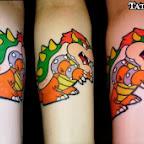 forearm - Super Mario Bros Tattoos Pictures