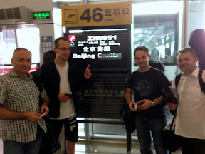 On the way to Beijing