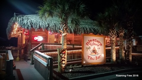 Dinner at the Tiki Bar