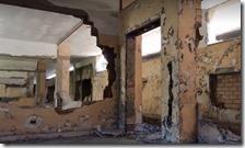 Quel che resta dell'ex scuola San Gaetano