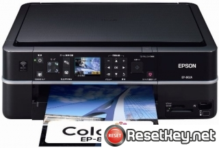 Reset Epson EP-802A printer Waste Ink Pads Counter
