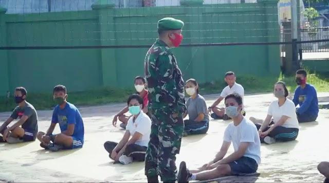 Kodim Kapuas Bina Calon Prajurit TNI
