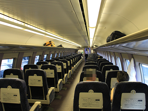 JR西日本 山陽新幹線「こだま741号」500 TYPE EVA 車内 その21