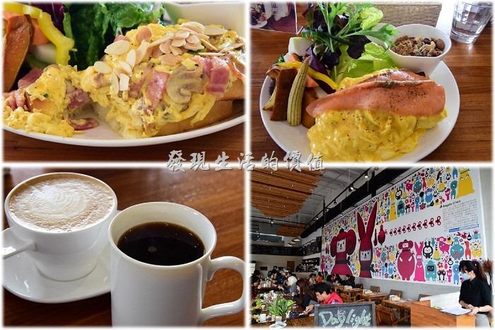 [台南]愛吃生菜靠過來「光合箱子」咖啡早午餐