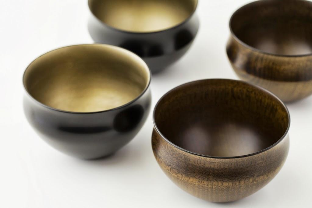 Lacquer Tea Bowl Suri-Urushi-wan (clear, PI shape)