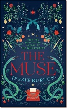 The Muse book cover, second novel by The Miniaturist author Jessie Burton