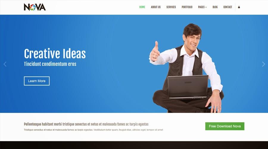 Free Bootstrap Themes - Nova
