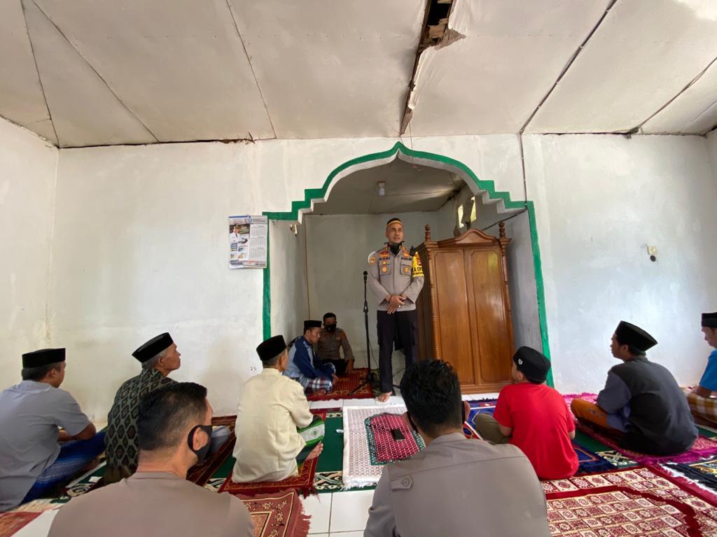 Safari Jumat di Masjid Nurul Hidayah, Kapolres Soppeng sampaikan Imbauan ini