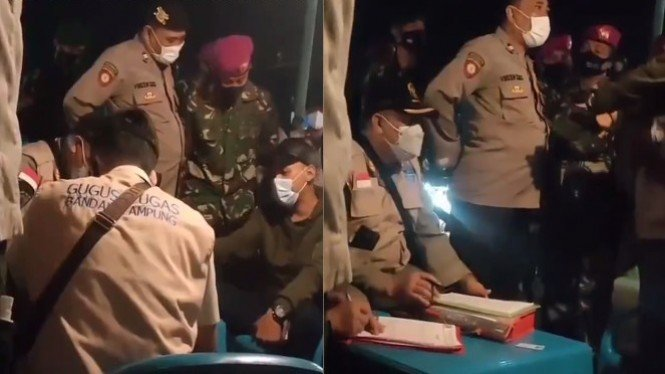 Viral Video Polisi Dibentak Balik Pedagang: Silakan Tangkap Saya!
