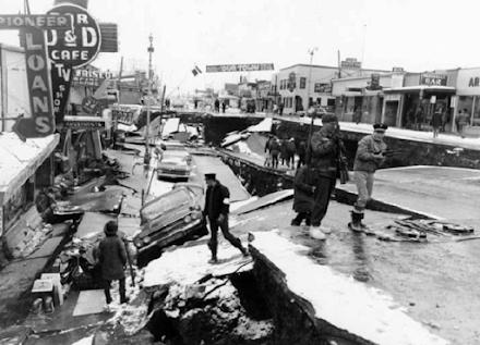 Αλάσκα 1964 : 57 χρόνια από τον δεύτερο μεγαλύτερο σεισμό που έχει μετρηθεί ποτέ από σεισμογράφο