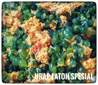 Urap latoh makanan khas jepara