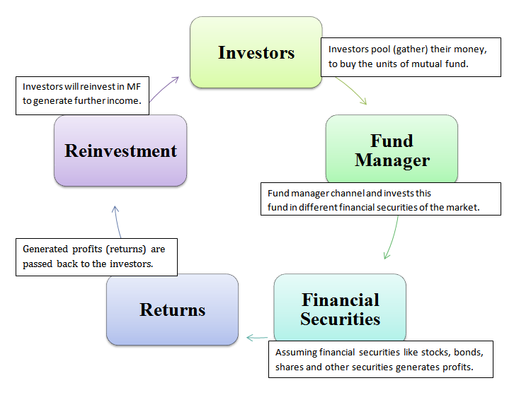 diagram of mutual fund