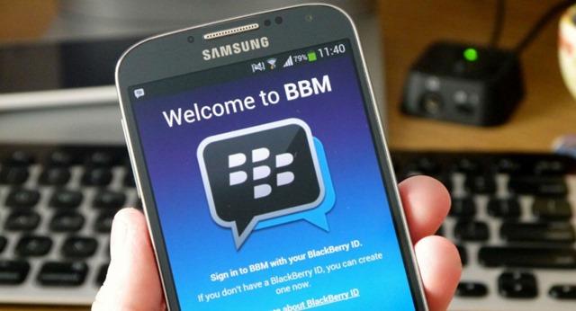 BBM на устройствах Андроид