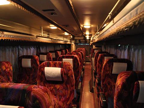 西鉄高速バス「さぬきエクスプレス福岡号」 車内