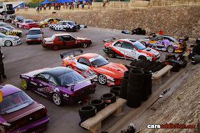 Drift car Pit lane