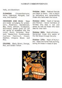 Cover of Correllian Times Emagazine's Book Issue 14 October 2007 vol 2 SAMHAIN CORRESPONDENCES
