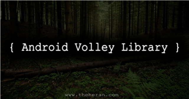 Android_volley_library