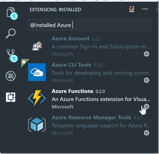 AzureFunctionExtension