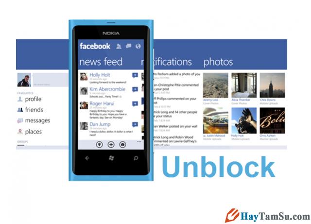 Sửa lỗi Lumia Windows Phone không vào được facebook
