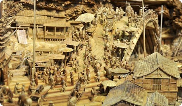 Zheng Chunhui's stunning wood sculpture-9
